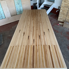 Bowling Alley Conference Table
