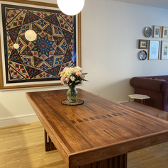 Bowling Alley Dining Room Table