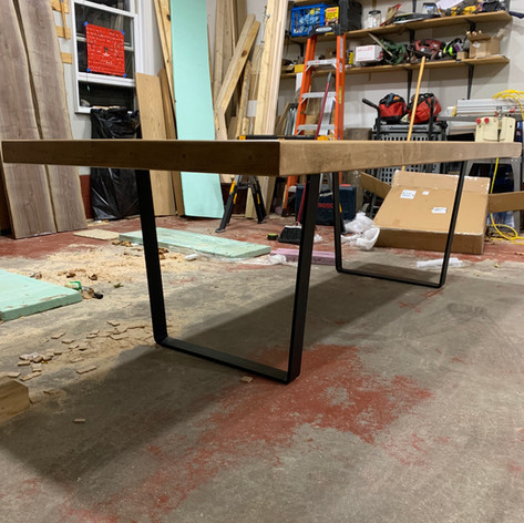 Bowling Alley Table with legs