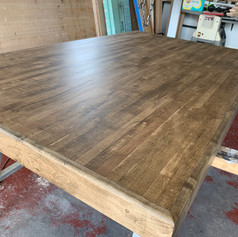 Jacobean stain inside- Bowling Alley Table