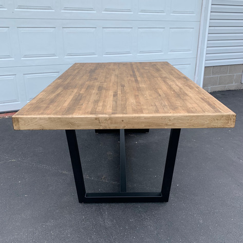 Dark Bowling Alley Table