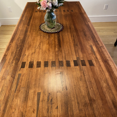 Bowling Alley Table with Arrows