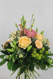 Blumenstrauss in lachs