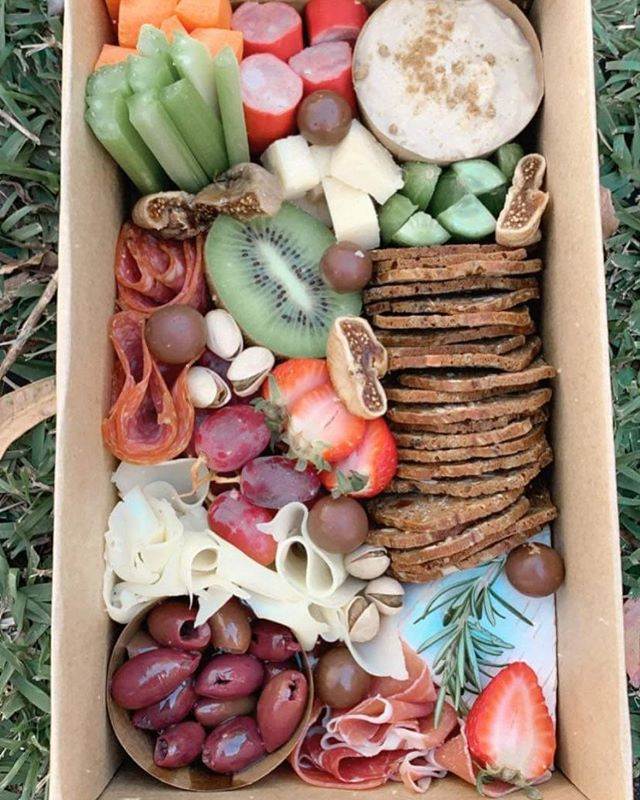 Mother's Day platter boxes ~ GF and Vege