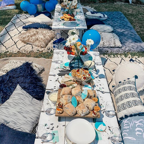 BABY BOY 👶🏼💙 Baby shower picnics | in