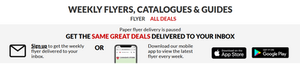 Canadian Tire Flyer Page - New Marketing Strategies