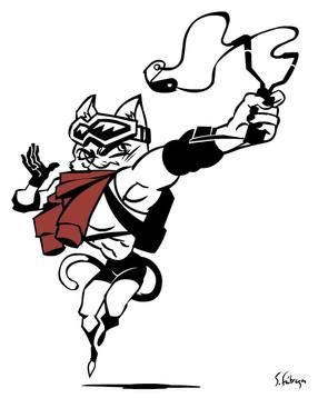 Slingshooter Cat