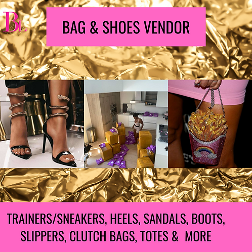 Bags & Shoes Vendor List