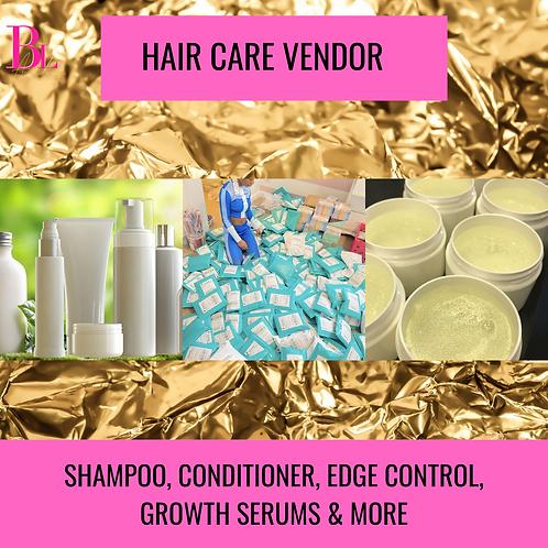 Premium Haircare Vendor List