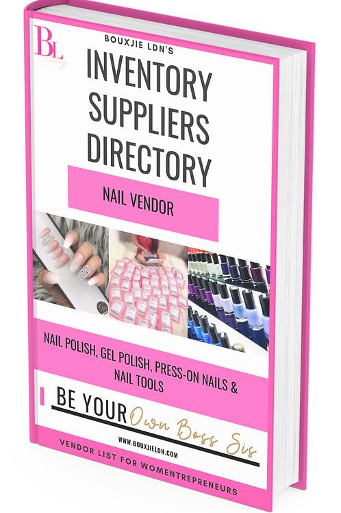 Exclusive Nail Vendor List