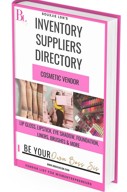 Lavish Cosmetic Vendor List