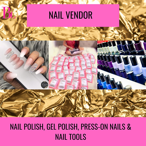 Exclusive Nail Vendor List