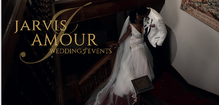 black couple jarvis amour luxury wedding planning Manchester & Cheshire