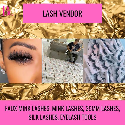 Lash Boss Vendor List