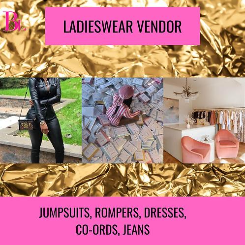 Top Tier Ladieswear Vendor list