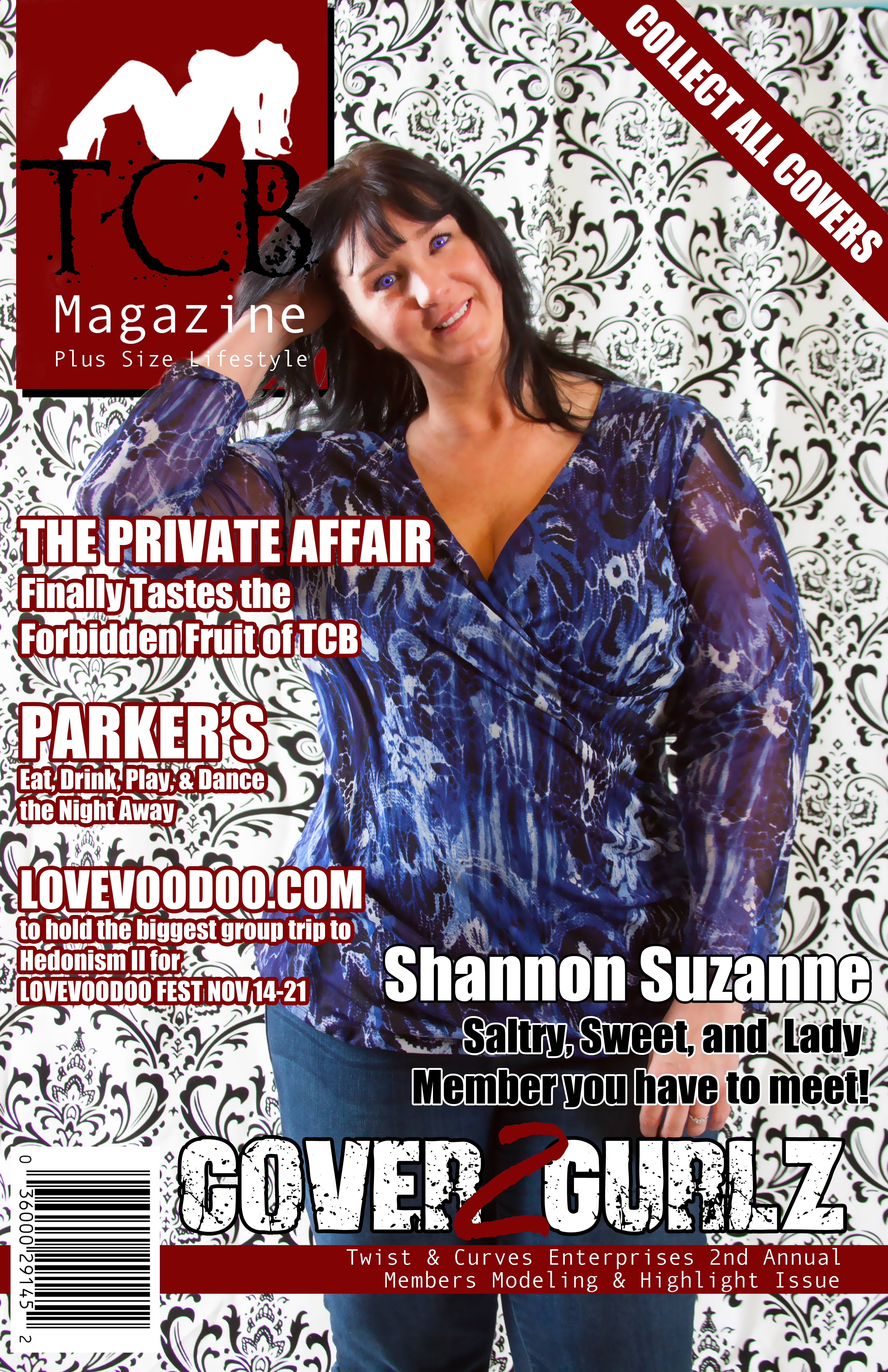 TCB MAGAZINE COVER - Shannon S