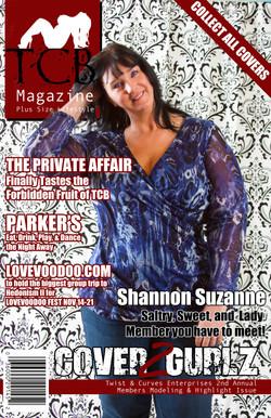 TCB MAGAZINE COVER - Shannon S