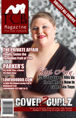 TCB MAGAZINE COVER - Kari Ann