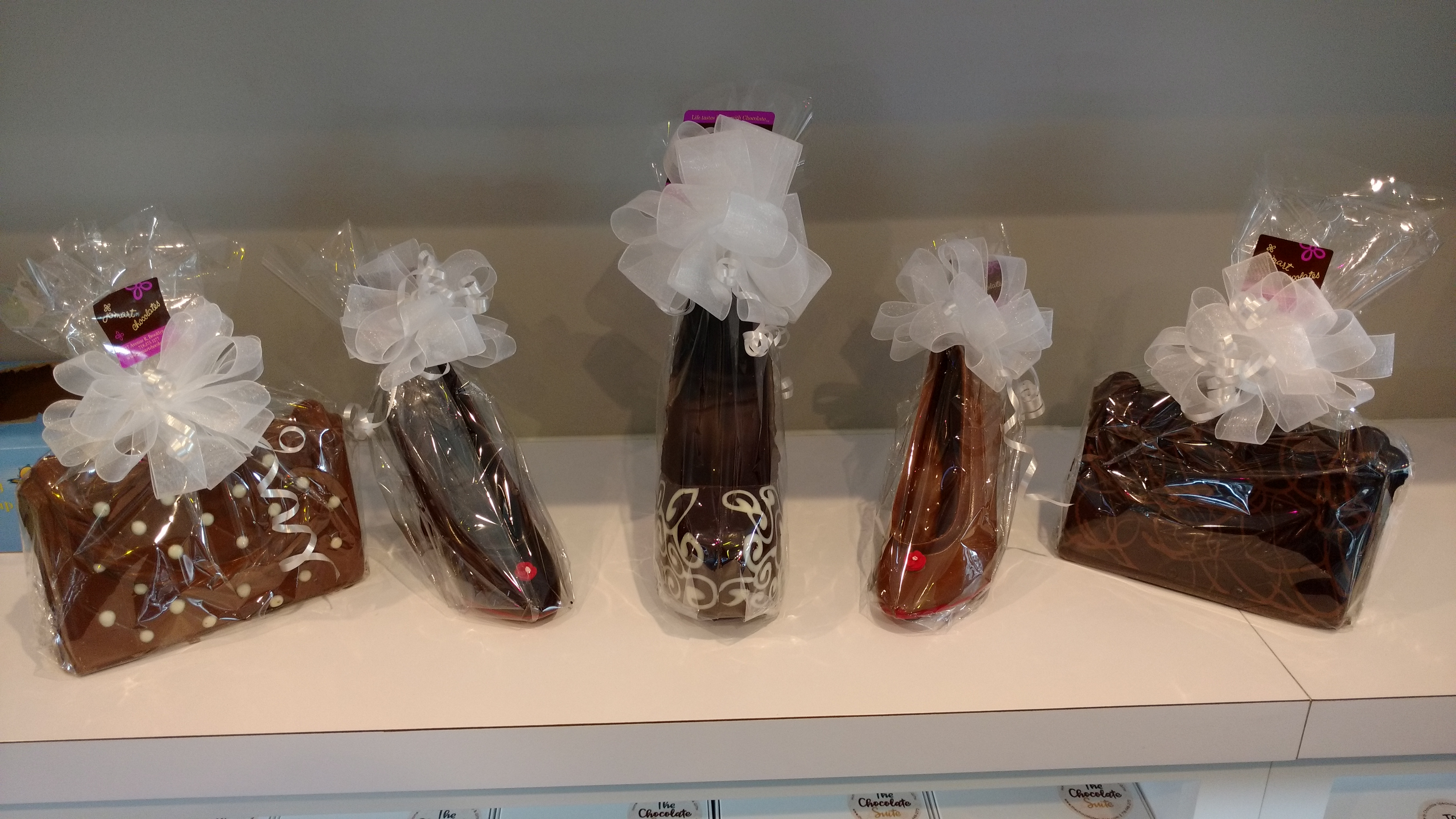 The Chocolate Suite shoes and purse