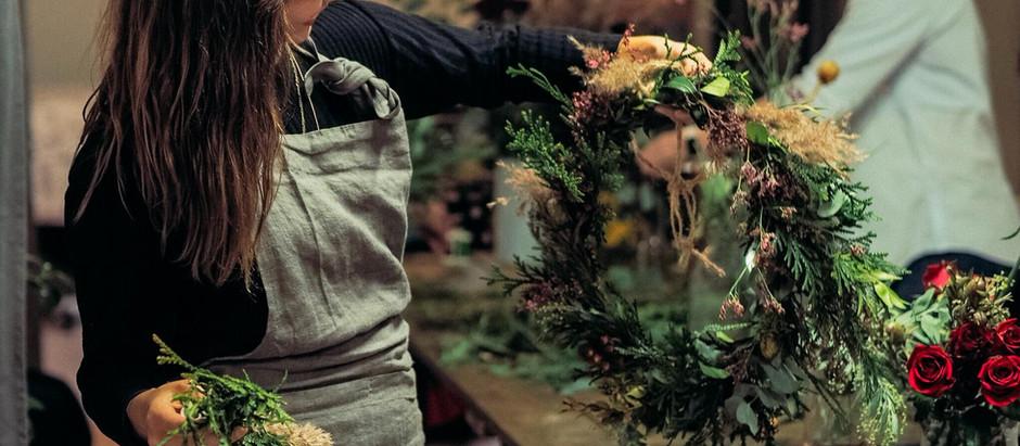 Olet ihanan loppuvuoden kukkakurssit!