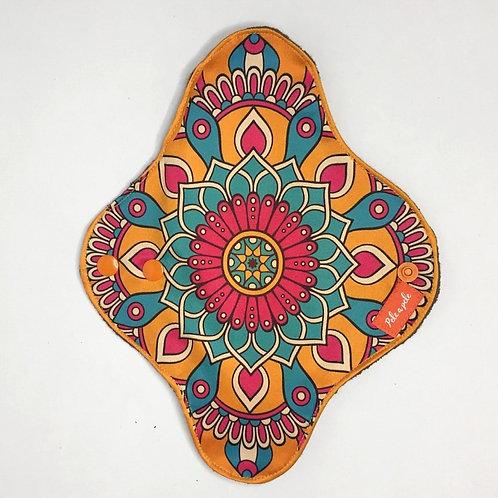ppele-abs mandala flor-laranja M