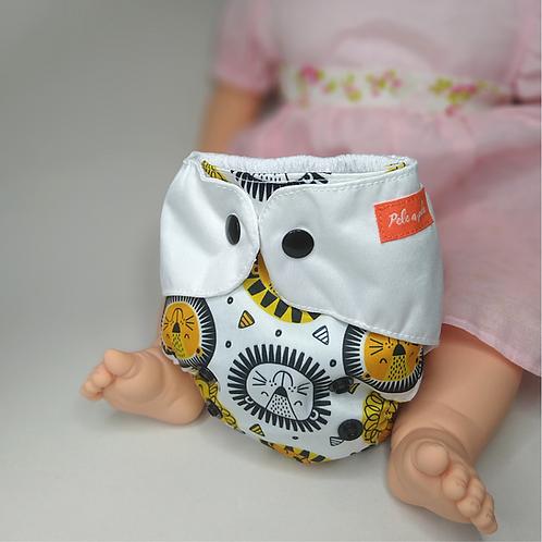 mini-ppele-leão-amarelo