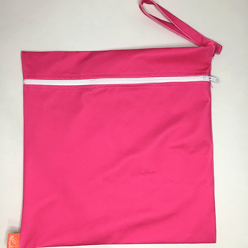 Sacola ppele-impermeável rosa G (#10067)