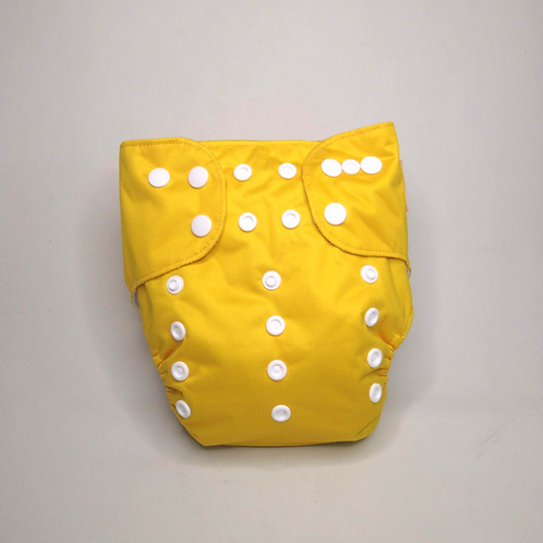 Fralda ecológica amarela