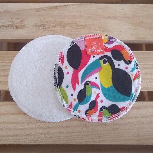 Abs seio reutilizável Tucano-toco