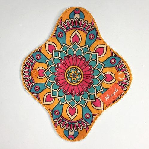 ppele-abs mandala flor-laranja PP