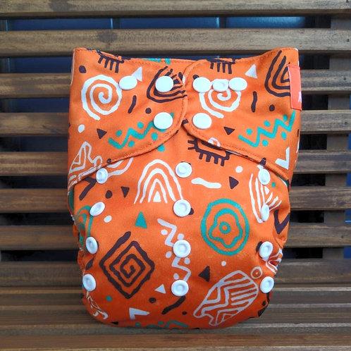 ppele-arte africana + abs. 4 camadas