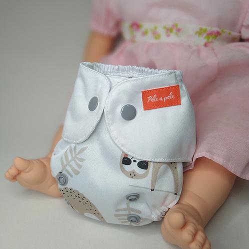 Fralda de boneca preguiças