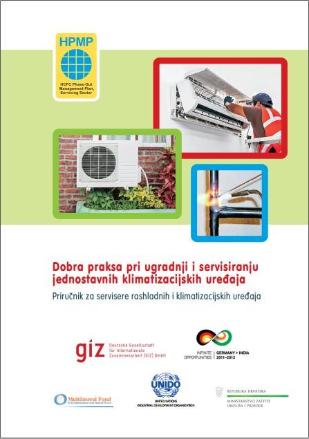 Dobra praksa pri ugradnji i servisiranju jednostavnih klimatizacijskih uređaja