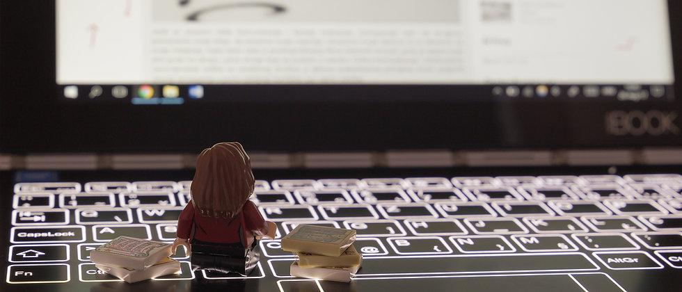 Lektoriranje na laptopu