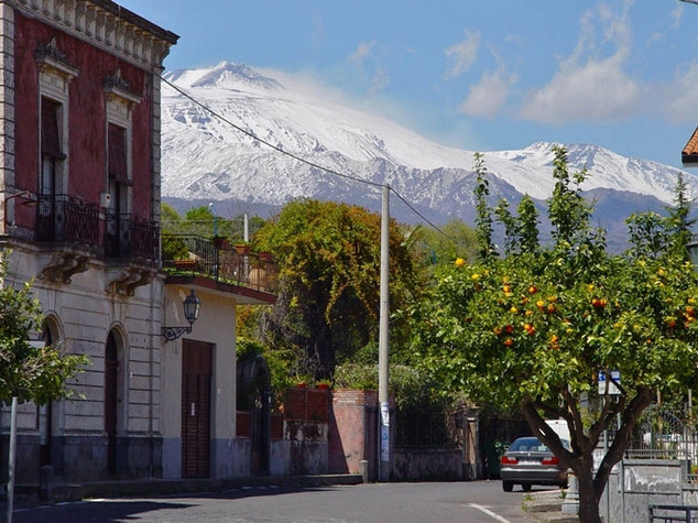 View of Etna
