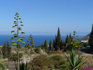 Panorama sulla costa Ionica