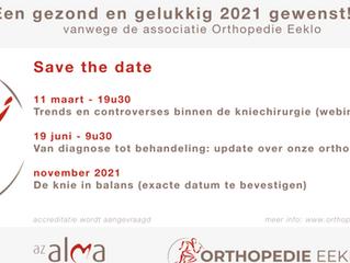 SYMPOSIA ORTHOPEDIE AZ ALMA ; save the date