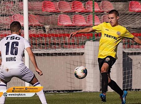 Porazom od TSC-a fudbaleri Trajala završili učešće u Kupu Srbije