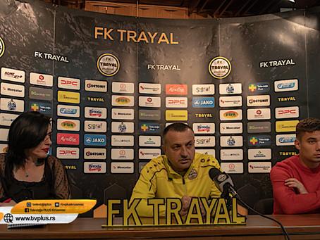 """FK """"TRAYAL"""" U NEDELJU GOSTUJU FK """"KABEL"""" IZ NOVOG SADA"""