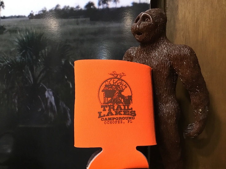 Trail Lakes Neon Orange Cup Coolie