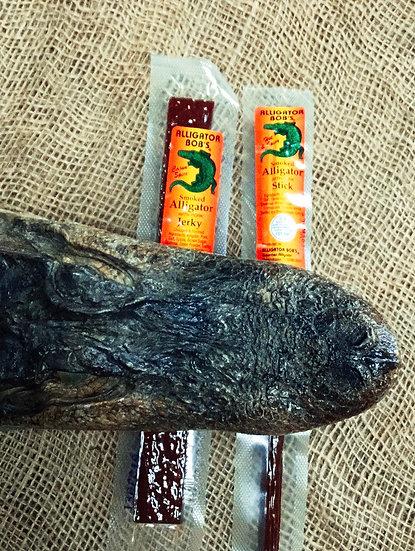 Alligator Bobs Smoked Alligator with Pork Jerky