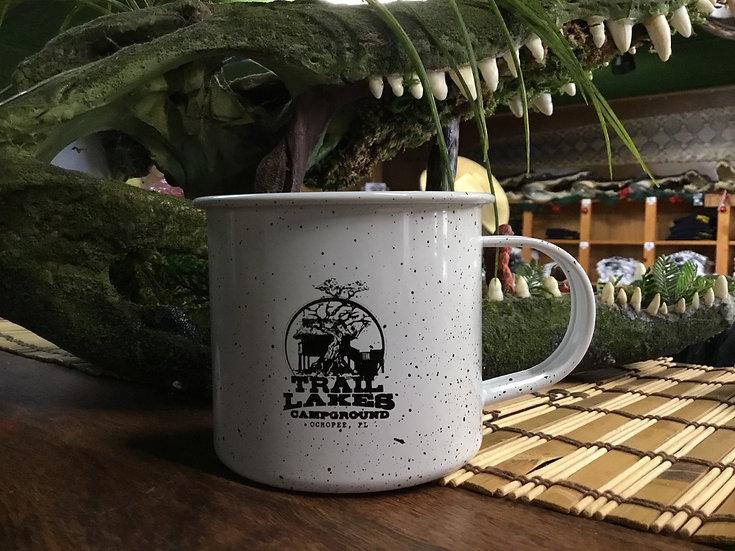 White Metal Mug