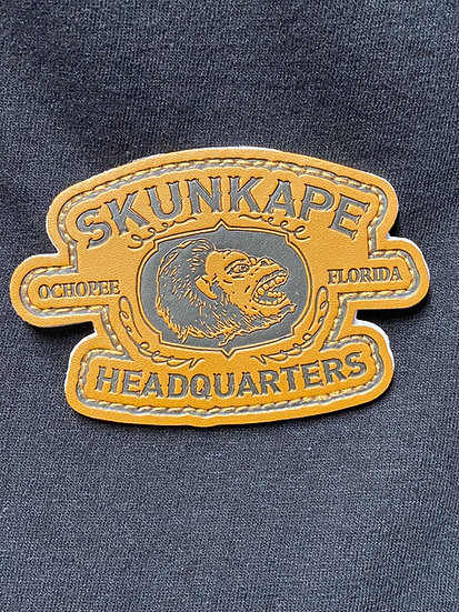 Leather SAHQ patch
