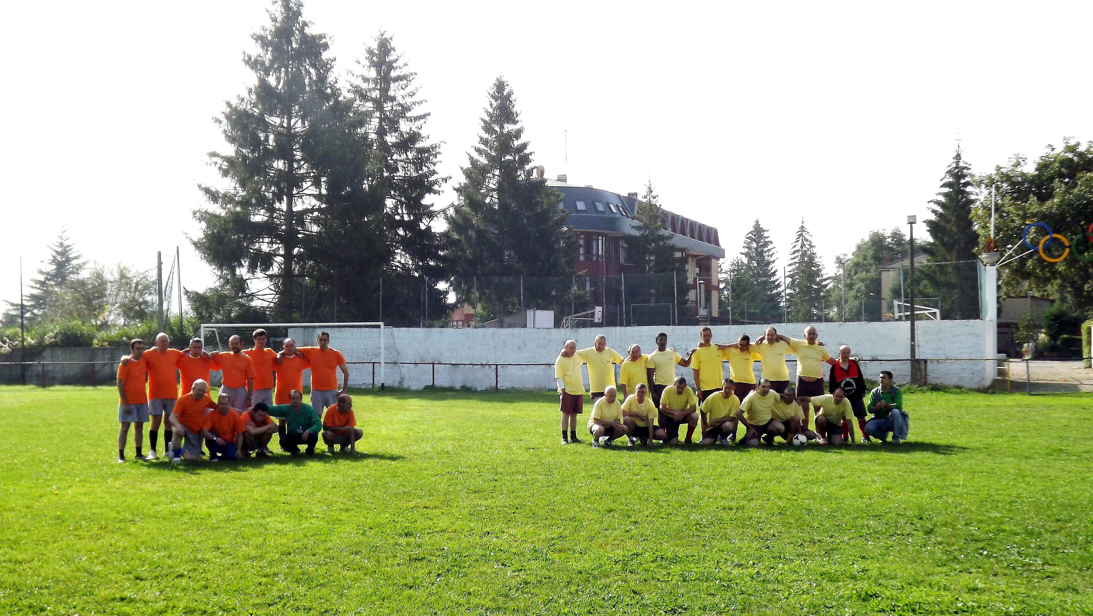 Nuestros equipos de fútbol.