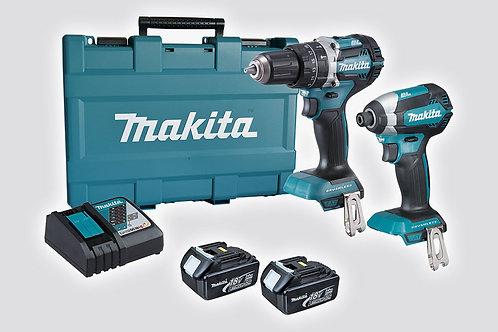 Makita Cordless Brushless 2 Piece Tool Kits