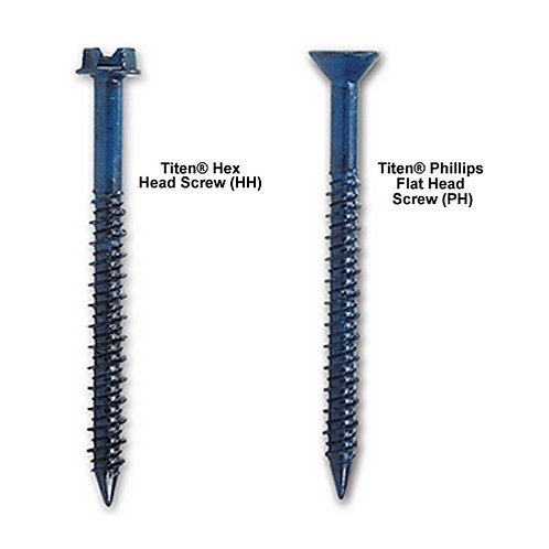 Titen Concrete and Masonry Screws