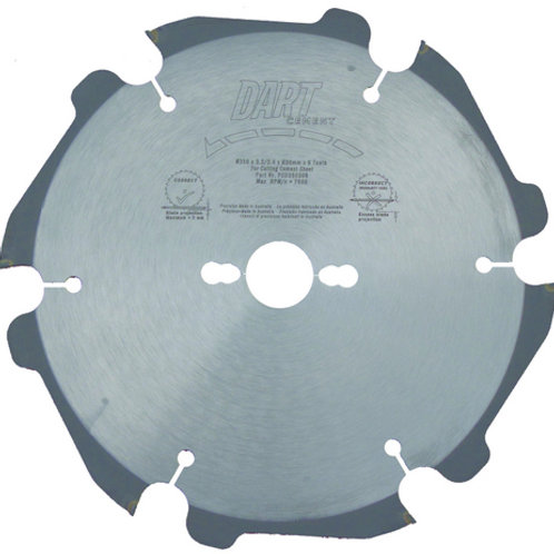 DART Cement Cutting Saw Blades
