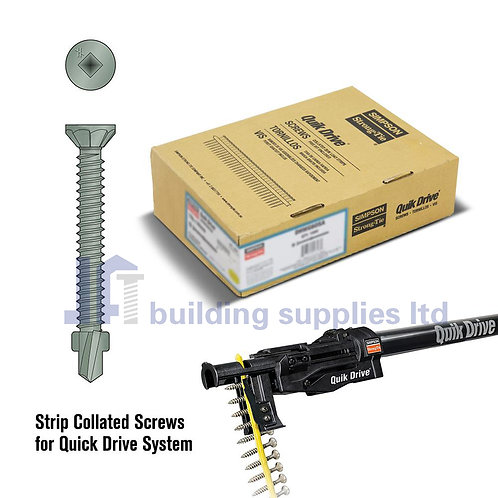 Simpson Strong-Tie Collated Winged Self Drilling Screws