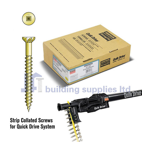 Simpson Strong-Tie Quik Drive Flooring Screws