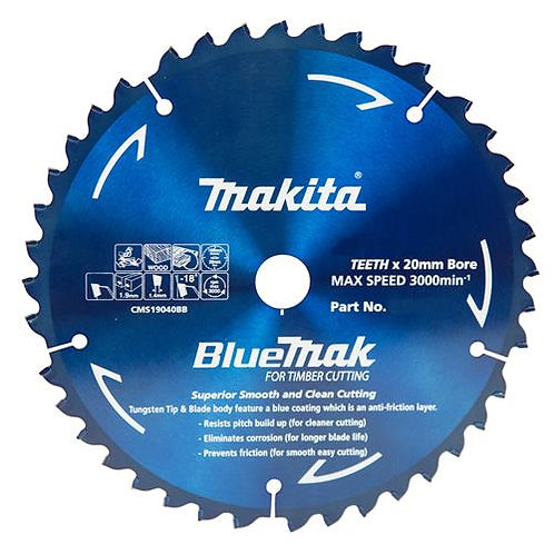 Makita BlueMak Saw Blades for Circular Saws